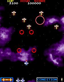 ブラスト・オフ-ゲーム画面
