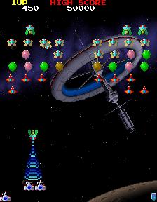 ギャラガ'88-合体手順1