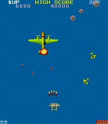 1942-ゲーム画面