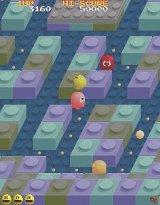 パックマニア-ゲーム画面