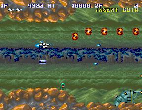 サンダークロス-ゲーム画面