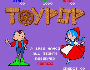 トイポップ-タイトル画面