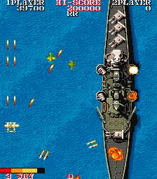 1943ミッドウェイ海戦-ゲーム画面
