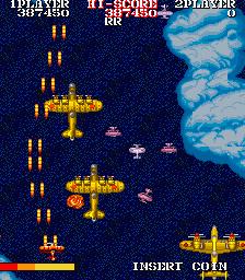 1943改-ゲーム画面