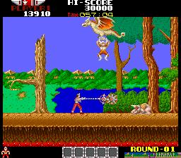 アルゴスの戦士-ゲーム画面