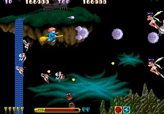 コットン-ゲーム画面