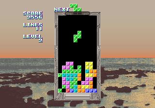 テトリスAC-ゲーム画面