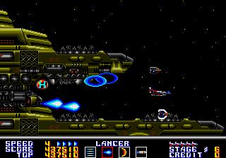 サンダーフォースAC-STAGE6巨大戦艦