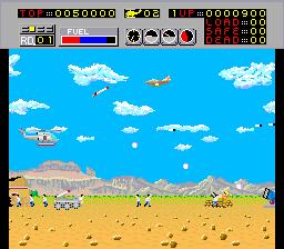 チョップリフターAC-ゲーム画面