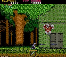 魔界村-ゲーム画面