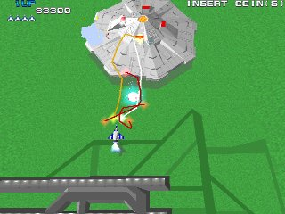 ゼビウス3D/G-ゲーム画面