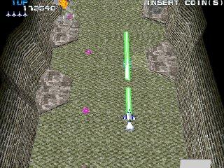 ゼビウス3D/G-緑色の武器