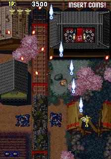 戦国エース-ゲーム画面