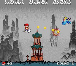 中華大仙-ゲーム画面