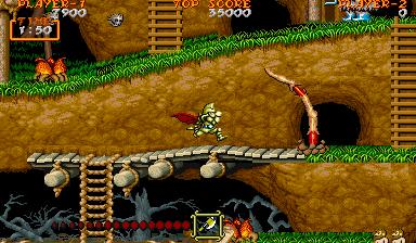 大魔界村-ゲーム画面