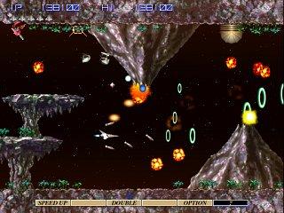 グラディウスIV-ゲーム画面
