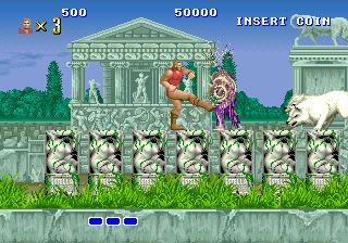 獣王記-ゲーム画面
