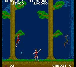 影の伝説-ゲーム画面