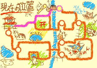 クイズクレヨンしんちゃん-全体マップ