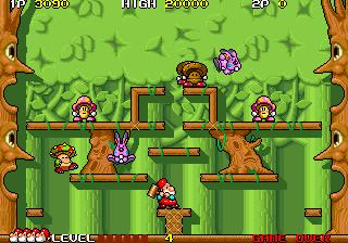 ドンドコドン-ゲーム画面