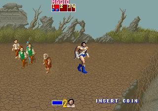 ゴールデンアックス-ゲーム画面