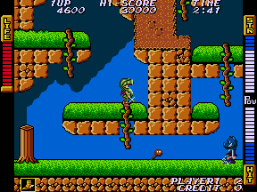 アテナ-ゲーム画面