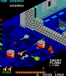 ザクソン-ゲーム画面