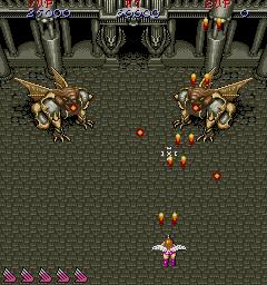 アレスの翼-ゲーム画面