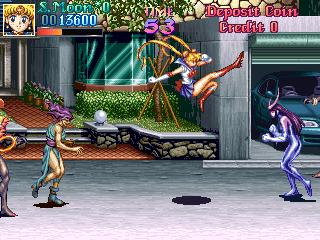 美少女戦士セーラームーンAC-ゲーム画面