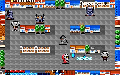 ウルトラマン倶楽部AC-ゲーム画面