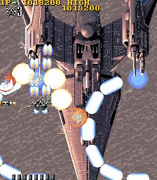 超時空要塞マクロス(AC)-ゲーム画面