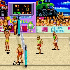 V'BALL-ゲーム画面