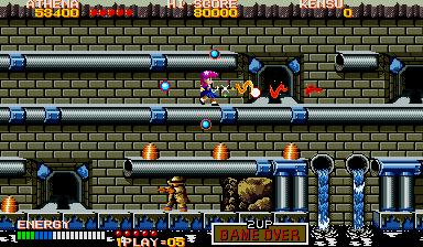 サイコソルジャー-ゲーム画面