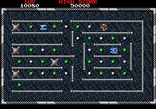 レイメイズ-ゲーム画面