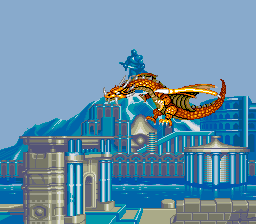 ブラックドラゴン-デモ画面