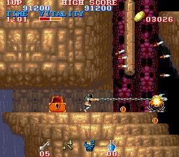 ブラックドラゴン-ゲーム画面
