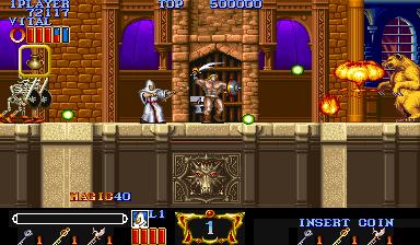 マジックソード-ゲーム画面