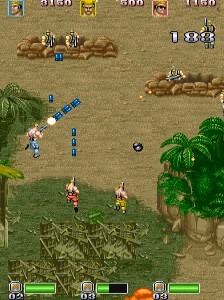 戦場の狼II-ゲーム画面
