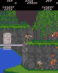 魂斗羅-ゲーム画面