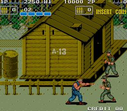脱獄P.O.W.-ゲーム画面