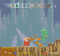 カルノフ-ゲーム画面