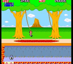 ピットフォールII-ゲーム画面