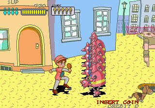 プリルラ-ゲーム画面