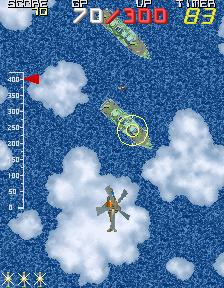 メタルホーク-ゲーム画面