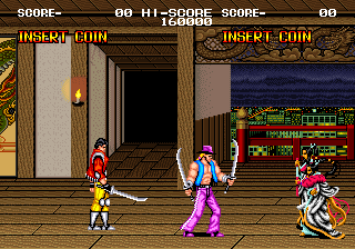 戦国伝承-ゲーム画面