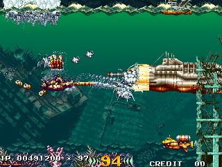 海底大戦争-ゲーム画面