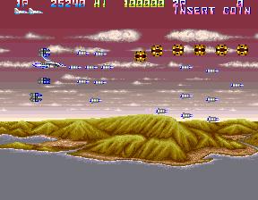 サンダークロスII-ゲーム画面