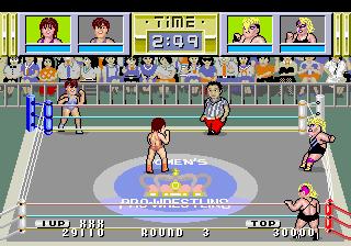 ダンプ松本AC-ゲーム画面