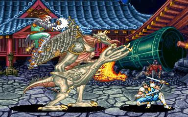 ザ・ニンジャマスター-ゲーム画面