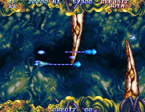 沙羅曼蛇2-ゲーム画面